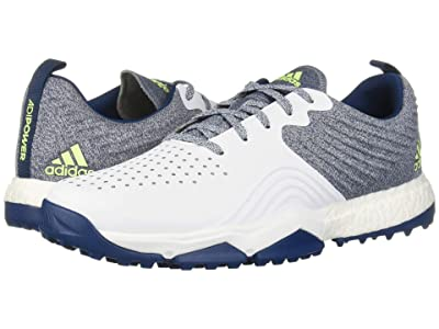 adidas Golf adiPower 4orged S (Legend Marine/Footwear White/Hi-Res Yellow) Men