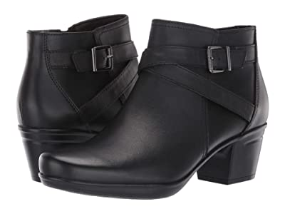 Clarks Emslie Cyndi (Black Leather) Women