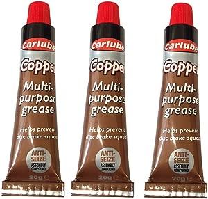 PACK 20g Tube Carlube Copper Grease Multi-purpose copper slip anti-seize lube