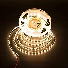LEDMY Flexible Led Strip Light DC 24V 24W SMD3528 300LEDs IP20 Non Waterproof Led Tape Light Warm White 2400K 5Meter/ 16.4Feet Using for Homes, Gardens,Kitchen, Car and Bar