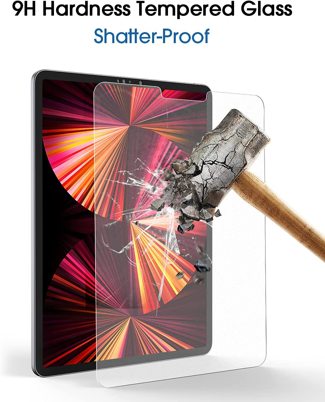 Buy amFilm PAPERed Glass Screen Protector compatible with ...