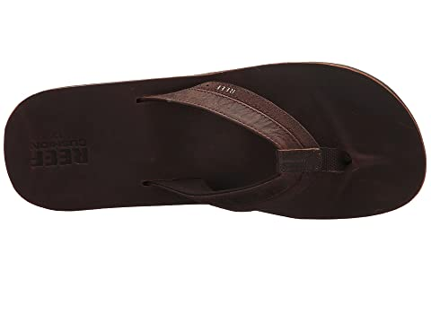 Reef Leather Contour Cushion Zappos Com