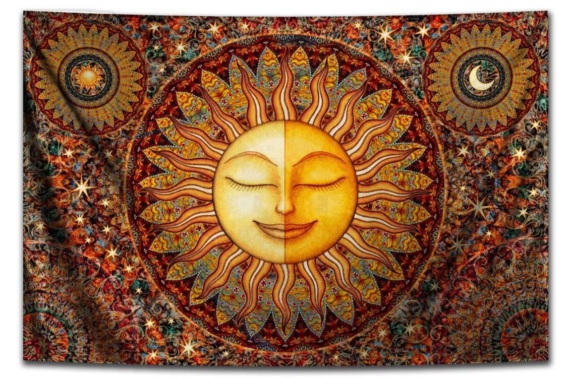 Sun 2021 New mail order new Hippie Bhakti Tapestry by Artist Dan Morris
