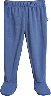 Baby Boys and Girls Footed Pants - 100% Organic Cotton and Breathable - Made in USA