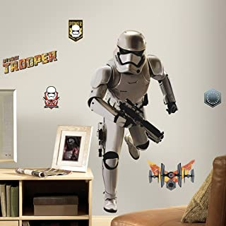 Roommates Star Wars The Force Awakens Ep Vii Storm Trooper Giant Wall Decal, Multi-Colour, RMK3150GM