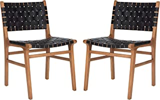 Safavieh Home Collection Taika Dining Chair, Black/Natural