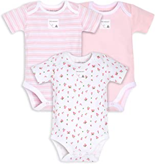 Burt's Bees Baby baby-boys Bodysuits, 3-pack Long & Short-sleeve One-pieces, 100% Organic Cotton