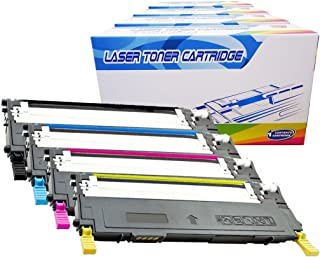 Best Inktoneram Compatible Toner Cartridges Replacement for Samsung CLP315 CLP-315 409S CLT-409S CLP-310 CLP-315W CLX-3170 CLX-3175FN CLX-3175FW ([Black,Cyan,Magenta,Yellow], 4-Pack) Review