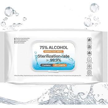 Alkohol-Reinigungst/ücher mit 75 /% Alkohol 6 St/ück