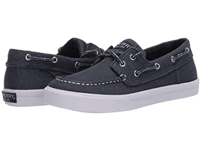Sperry Kids Bahama (Little Kid/Big Kid) (Navy Shimmer) Girl