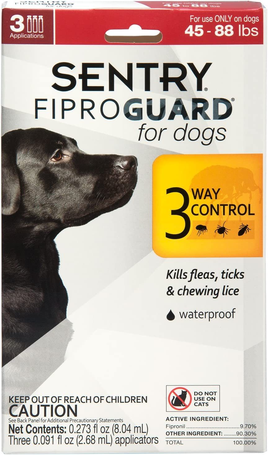 SENTRY PET CARE National products Atlanta Mall Fiproguard for Dogs fo Flea Prevention and Tick