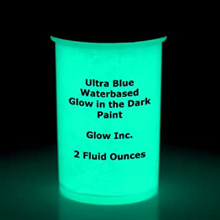 Ultra Blue Glow in the Dark Paint 1 Gallon