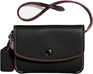 COACH Womens Card Pouch with Metallic Interior
