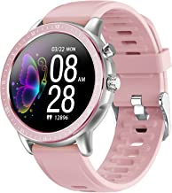 Smart Watch for Android Phones Fitness Tracker Heart Rate Monitor Blood Pressure Activity Tracker Pedometer Blood Oxygen W...
