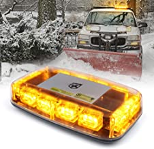Xprite Amber 36W LED Rooftop Flashing Beacon Lights 12