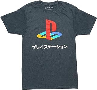 Playstation Logo - Camiseta japonesa Kanji