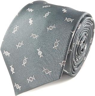 Men's DNA Necktie - DNA Necktie - DNA Tie - Biology Necktie - Scientist Necktie - Science Gift for Men - Geneticist Gift