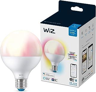 Wiz Bombilla Wifi y Bluetooth LED Regulable Colores globo G95 75w E27 Luz blanca y de colores, 2200-6500K, 11W (equivale a 75 W), A+