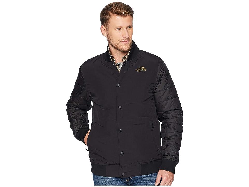 The North Face Transbay Insulated Varsity Jacket (TNF Black Novelty) Men