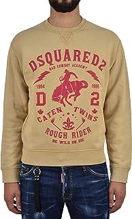 Dsquared2 Sweatshirt Cowboy Men Brown New