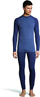 Hanes Men's 4-Way Stretch Crew Neck Long Sleeve T-Shirt with X-Temp & FreshIQ Technology