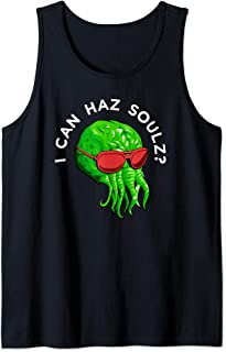 Cthulhu Monster Squid Octopus Wants Souls Tank Top