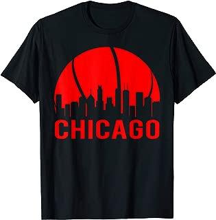 Chicago Basketball B-Ball City Illinois State Gifts T-Shirt