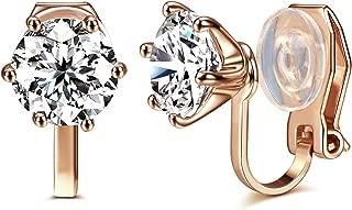 Best clip on earrings diamond Reviews