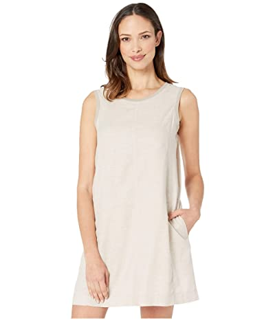 Toad&Co Tara Hemp Sleeveless Dress (Oatmeal Chambray) Women