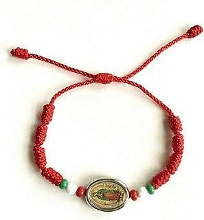 9f8ef349ba46 ALEX AND ELSA GUADLUPE RED Bracelet for Good Luck PULSERA Rojo DE Guadalupe  para Buena