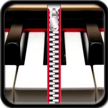 Piano Zipper Lock Screen