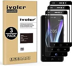 iVoler [3 Unidades] Protector de Pantalla para BQ Aquaris X Pro/BQ Aquaris X, [Cobertura Completa] Cristal Vidrio Templado Premium, [Dureza 9H] [Anti-Arañazos] [Sin Burbujas]