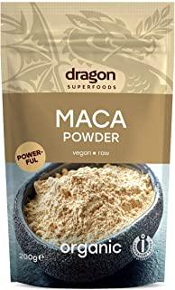 Dragon Super Foods Superfoods Maca Powder Raw 200g,