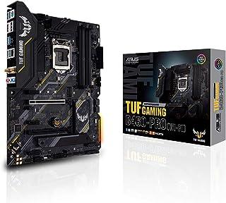 ASUS TUF Gaming B460-PRO (WI-FI) - Placa Base Gaming ATX Intel de 10a Gen LGA 1200 con VRM de 8 Fases, Dual M.2, DDR4, LAN 1Gb, Intel WiFi 6, HDMI/DP, USB 3.2 Gen 2 e iluminación RGB Aura Sync