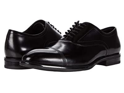 Kenneth Cole New York Futurepod Lace-Up Cap Toe (Black) Men