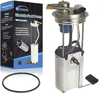 POWERCO Electric Fuel Pump Replacement For Chevy Silverado 2006 2005 2004 1500 Crew Cab 4.8L 5.3L With Sending Unit E3684M