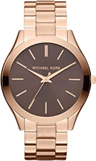 Michael Kors Women's Quartz Watch, Analog Display and Stainless Steel Strap MK3181