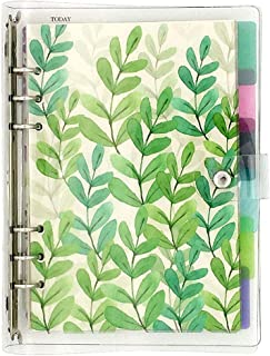 $22 » A5 6-Ring Loose Leaf Binder Journal from Chris.W, w/ 80 Insert Pages(Dot Grid/Square Grid/Ruled/Blank) + 6 Index Divider T...
