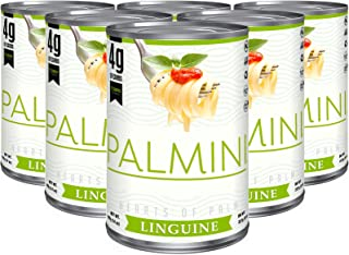 Palmini Low Carb Linguine   4g of Carbs   As Seen On Shark Tank   (14 Ounce - Pack of 6)