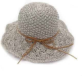 Woman's Summer Hat Foldable Sunscreen Anti Uv Hollow Bucket Hats Cap Tourism Leisure Motion Beach Hat