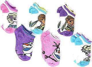Disney Frozen Girls Toddler Multi Pack Socks Set