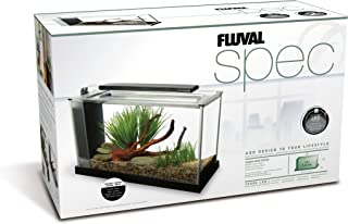 Fluval Spec V Aquarium Kit, 5-Gallon, Black
