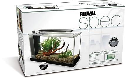 Fluval Spec V Aquarium Kit 5 Gallon Black Amazon In Pet Supplies