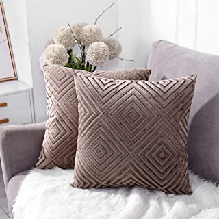 Best chocolate brown sofa with throw pillows Reviews