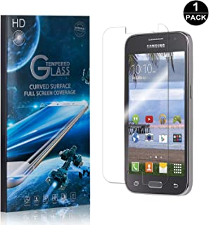 Galaxy Core Prime Screen Protector Tempered Glass, Bear Village® Perfect Fit & Anti Fingerprint HD Screen Protector Film for Samsung Galaxy Core Prime - 1 Pack