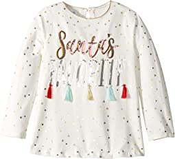 Santa's Favorite Tassel Long Sleeve Christmas Tunic (Infant/Toddler)