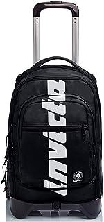 Trolley Backpack Invicta New Plug Plain Logo Black