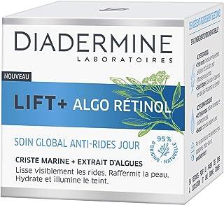 Diadermine - Lift+ Algo Retinol - Crème Visage Soin de Jour Gobal Anti-Rides - Criste Marine et Extrait d'Algues - Hydrate...