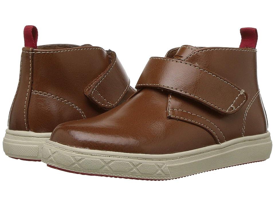 Florsheim Kids Curb Strap Chukka Boot (Toddler/Little Kid/Big Kid) (Cognac) Boy