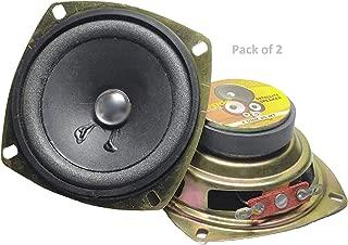 NextGeek™ 3 inch 4 ohm 20 watt Full Range woofer (Pack of 2)